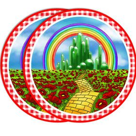 """Wizard of Oz 7""""Plate (8 Count)"""