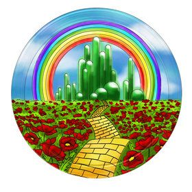 """Wizard of Oz 9"""" Plate (8 Count)"""