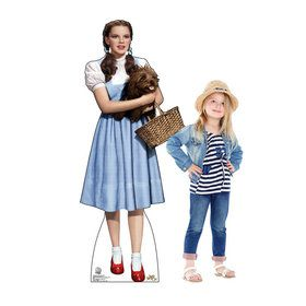 Wizard of Oz Dorothy Cardboard Standup (Each)