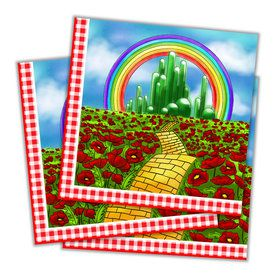 Wizard of Oz Lunch Napkin (16 Count)