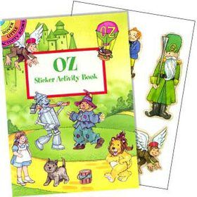 Wizard of Oz Sticker Book (each)