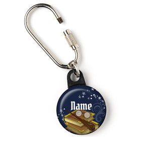 """Wizard Personalized 1"""" Carabiner (Each)"""