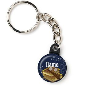 "Wizard Personalized 1"" Mini Key Chain (Each)"