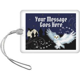 Wizard Personalized Bag Tag (Each)