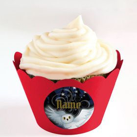 Wizard Personalized Cupcake Wrappers (Set of 24)