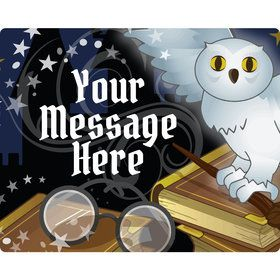 Wizard Personalized Rectangular Stickers (Sheet of 15)