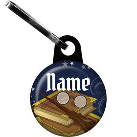 Wizard Personalized Zipper Pull (Each)