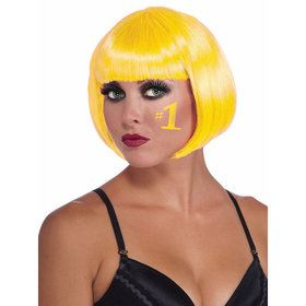 Women's Bob Wig Yellow