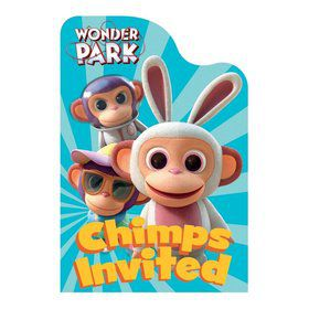 Wonder Park Postcard Invitations (8)