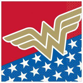 Wonder Woman Lunch Napkins (16)