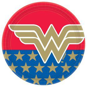 Wonder Woman Lunch Plates (8)