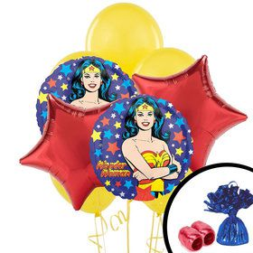 Wonder Women Balloon Bouquet