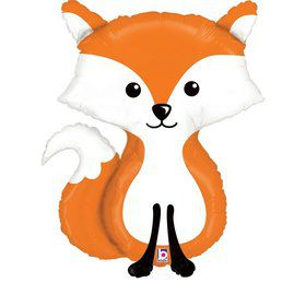 "Woodland 36"" Fox Foil Balloon"