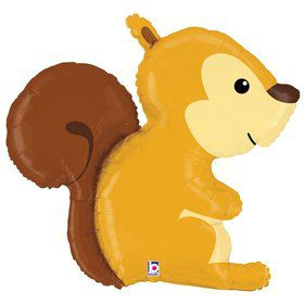 "Woodland 36"" Squirrel Foil Balloon"