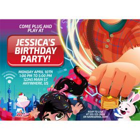 Wreck It Personalized Invitation (Each)