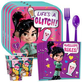 Wreck It Ralph 2 Standard Tableware Kit (Serves 8)