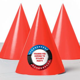 Wrestling Party Personalized Party Hats (8 Count)