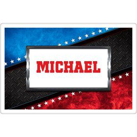 Wrestling Party Personalized Placemat (each)
