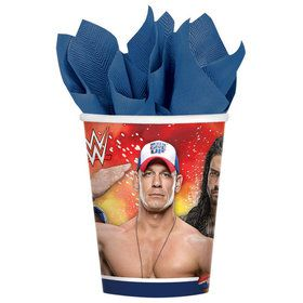 WWE 9oz Cups (8 Pack)