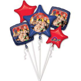 WWE Balloon Bouquet (5 pack)