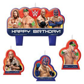 WWE Candle Set (4 Pack)
