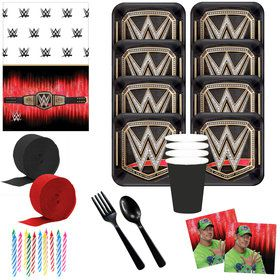 WWE Deluxe Tableware Kit (Serves 8)