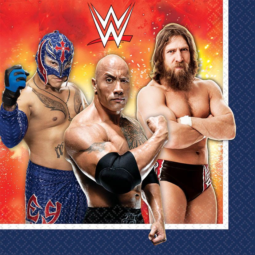 Wwe Luncheon Napkins (16 Pack) BB511467