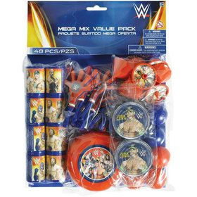 WWE Mega Mix Favor Pack (For 8 Guests)