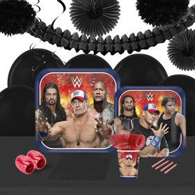 WWE Never Give Up 16 Guest Tableware Decoration Kit