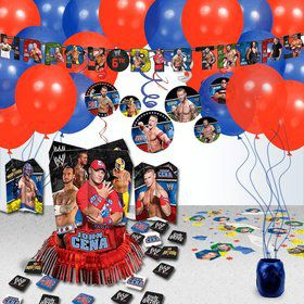 WWE Party Decoration Kit