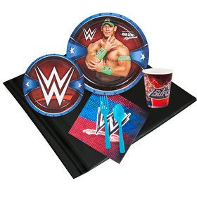 WWE Party Deluxe Tableware Kit Serves 8