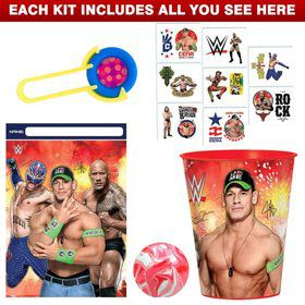 WWE Party Favor Kit