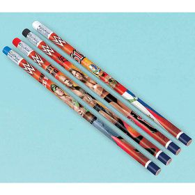 WWE Pencil Favors (12 Pack)