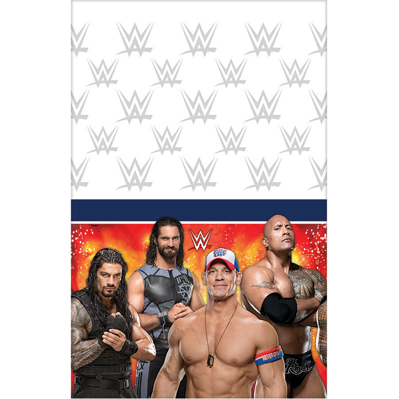 Wwe Plastic Table Cover (Each) BB570030