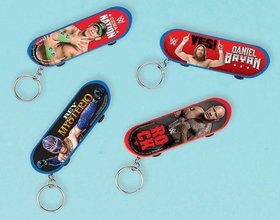 WWE Skateboard Keychain Favors (Each)