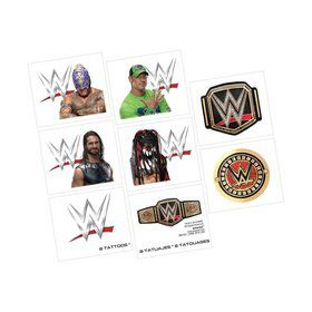 WWE Tattoo Favors (12)