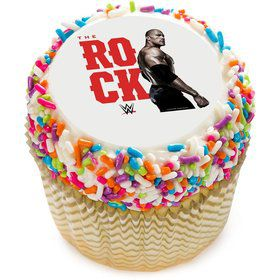 "WWE The Rock 2"" Edible Cupcake Topper (12 Images)"