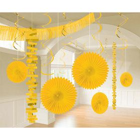 Yellow Decoration Kit