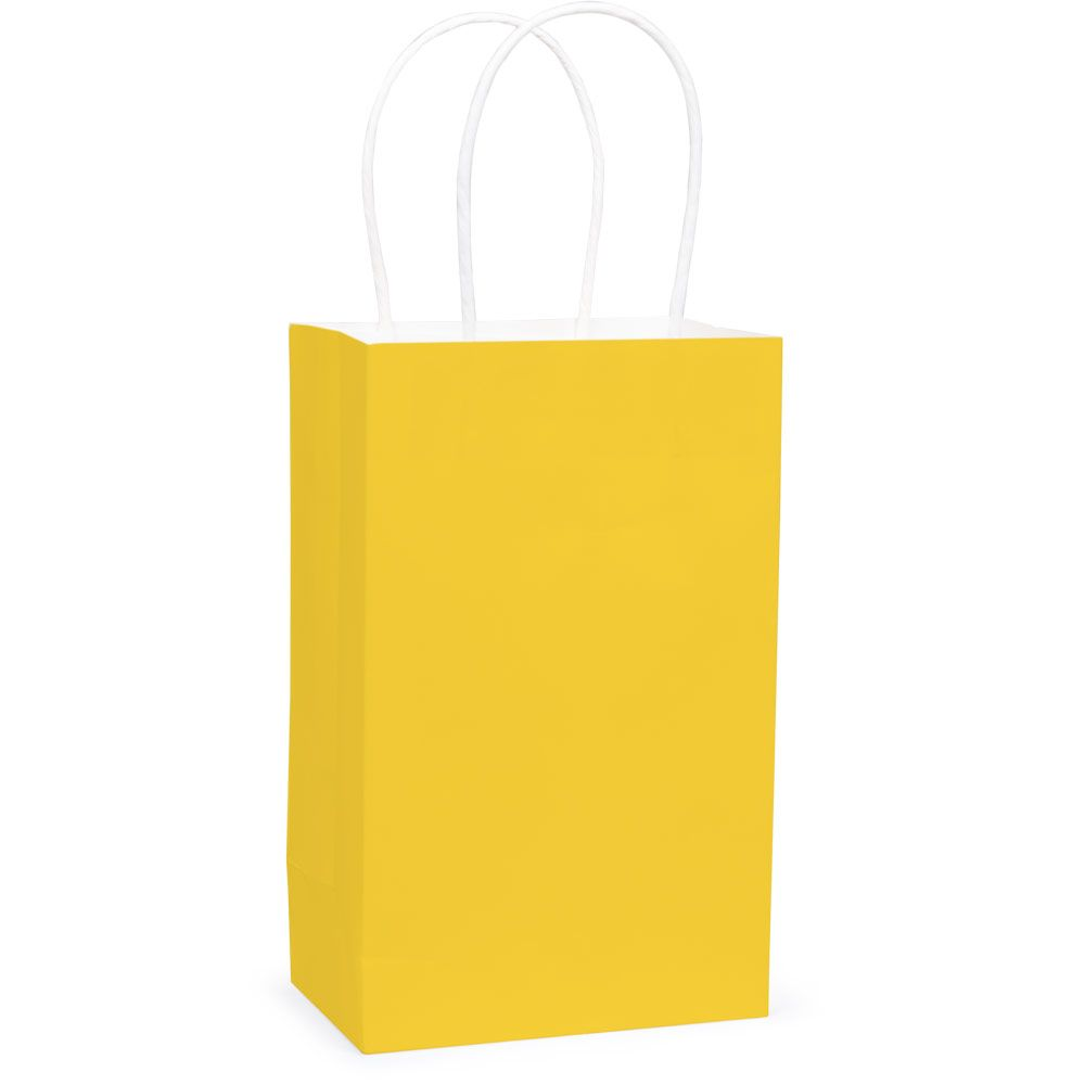 Yellow Favor Bag - Party Supplies