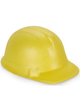 Yellow Foam Child Construction Hat One-Size