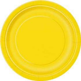 Yellow Luncheon Plates (16 Count)