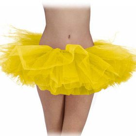 Yellow Tulle Adult Tutu