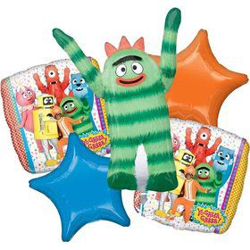 Yo Gabba Gabba Balloon Bouquet (Each)