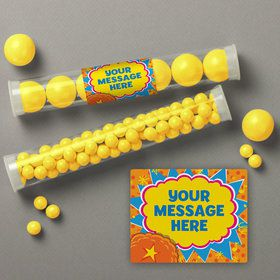 Yo Yo Dance Party Personalized Candy Tubes (12 Count)