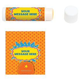 Yo Yo Dance Party Personalized Lip Balm (12 Pack)