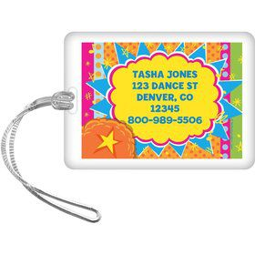 Yo Yo Dance Party Personalized Luggage Tag (Each)