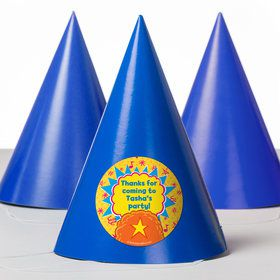 Yo Yo Dance Party Personalized Party Hats (8 Count)