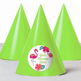 You Had Me At Aloha Personalized Party Hats (8 Count)