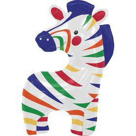 "Zebra 35"" Balloon (each)"