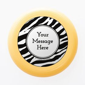 Zebra Animal Print Personalized Mini Discs (Set of 12)